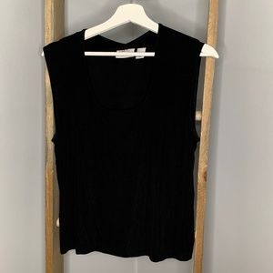 Chico's Travelers Black Tank Top